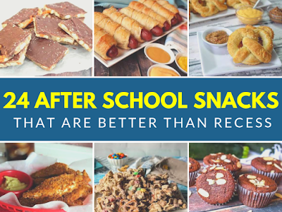 24 After School Snacks That Are Better Than Recess