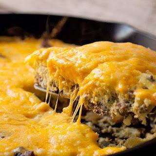 Simple Cheeseburger Frittata