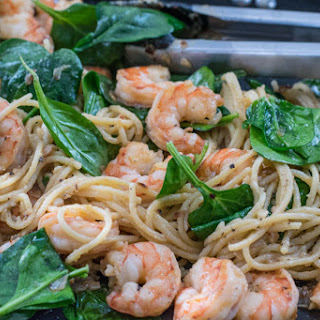 Zesty Shrimp Pasta with Spinach