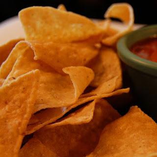 Homemade Totopos (Crunchy Corn Tortilla Chips).