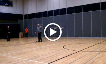 Video: Octo-V Third Generation Flying in the Gym. Perfectly Stable.