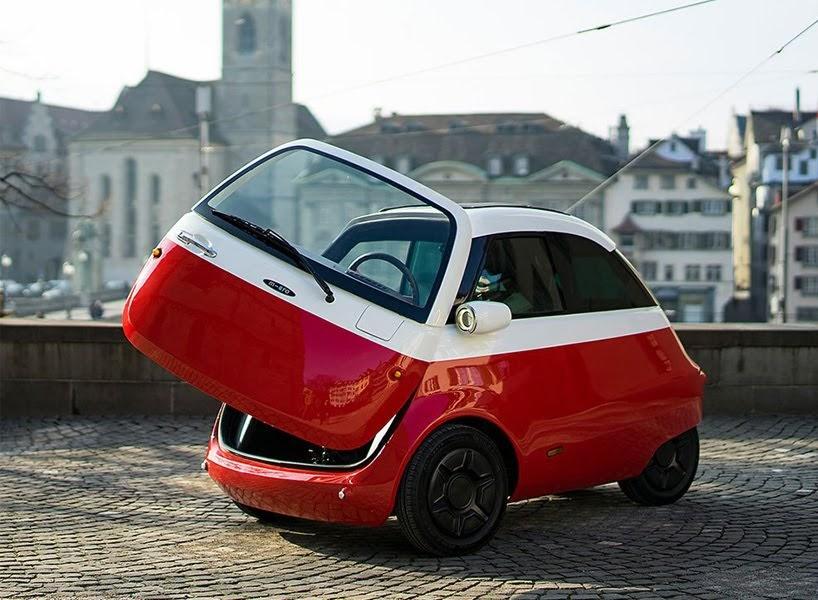 Microlino: un auto eléctrico y compacto que pronto estará en las calles de Europa