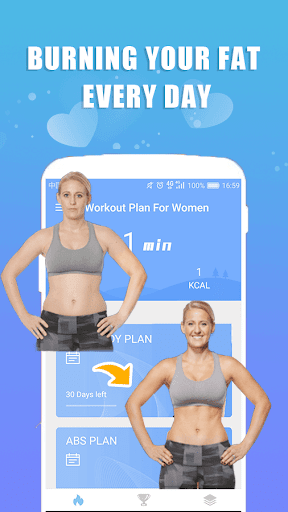 Workout Plan For Women screenshot 1