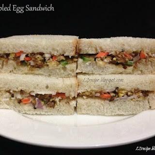 Scrambled Egg Sandwich Recipe