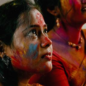 Dol Utsav by Suman Rakshit - People Street & Candids