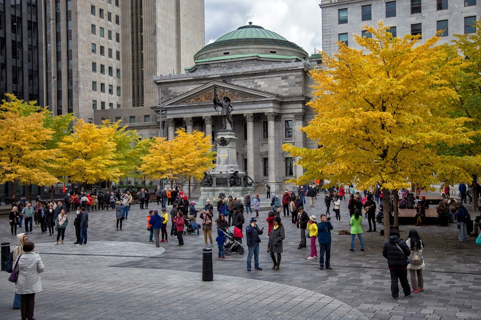 Place d'Armes, Montreal