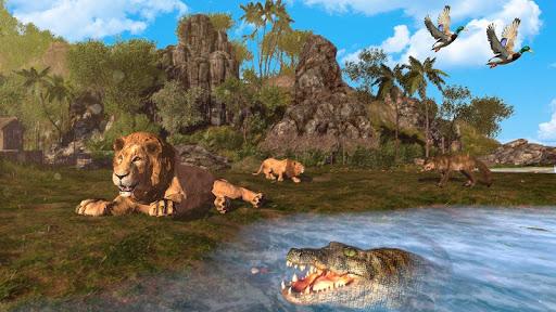 Crocodile Hunt and Animal Safari Shooting Game screenshots 1