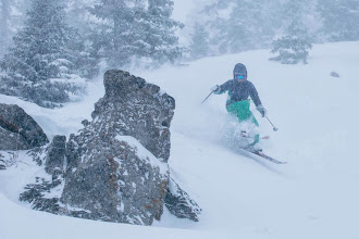 Photo: Great powder turns of February