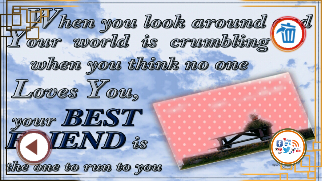 Friendship Is About Quotes Friendship Quotes Photo Frame  Android Apps On Google Play