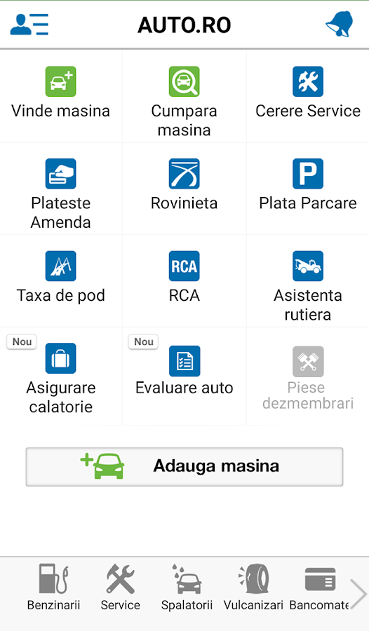 Auto.ro- screenshot