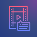 Kaptioned - Automatic Subtitles for Videos icon