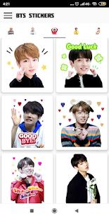 BTS Stickers For Share – BTS Emoji