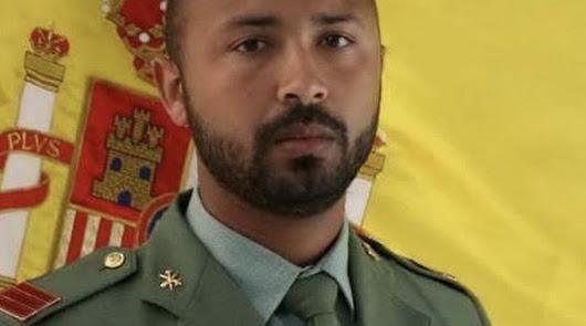 Luto en la Legión por la muerte del cabo Benaribi Amar en un accidente en 4x4