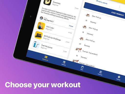 Chest workout plan  screenshots 5