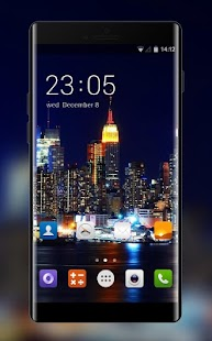 Theme for Meizu E2 City View Wallpaper - náhled