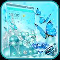Blue Diamond Glitter Theme icon