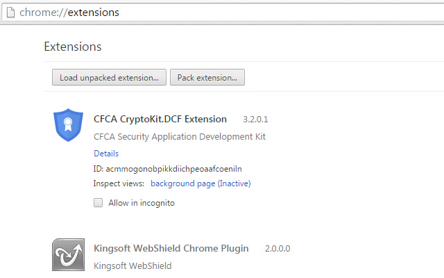 CFCA CryptoKit.DCF Extension