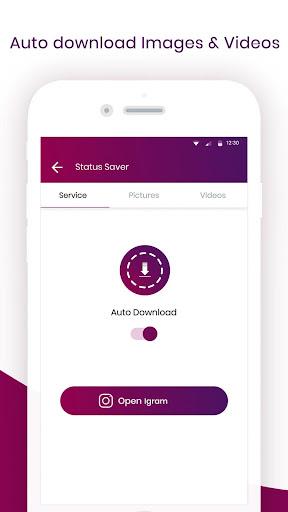 Status Saver, repost, Video Downloader for Tik Tok 1.9 screenshots 2