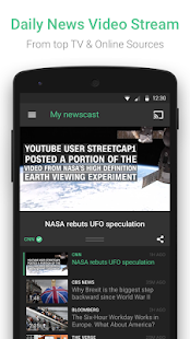 Watchup: Video News Daily Screenshot 1