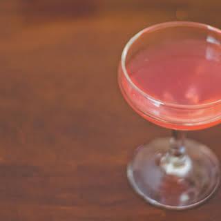 Strawberry Vodka Gimlet.