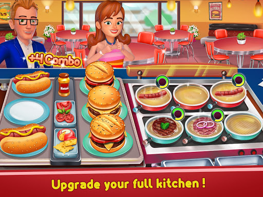 Kitchen Madness - Restaurant Chef Cooking Game modavailable screenshots 10