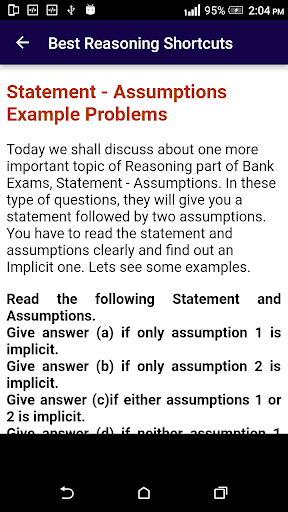Download Best Reasoning Tricks Google Play softwares