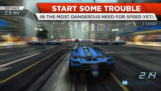 Need for Speed™ Most Wanted MOD Apk (Unlimited Money) 2