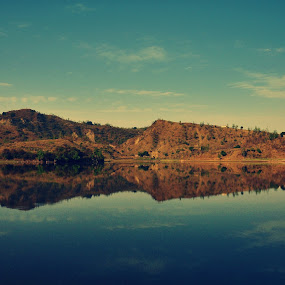 Mirror Image by Satminder Jaggi - Landscapes Waterscapes ( hill, mountain, lake )