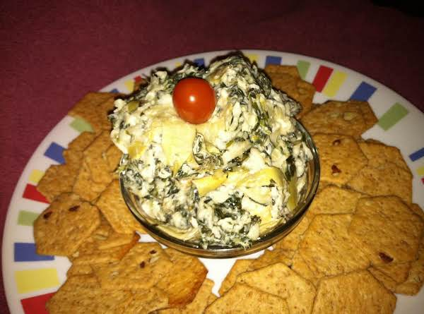 Put Bowl Of Dip On A Plate Or A Platter And Serve!