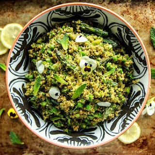 Lemony Verde Quinoa Salad Recipe