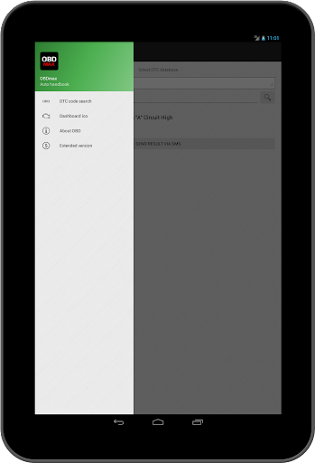 OBD2 scanner & fault codes description: OBDmax  screenshots 8