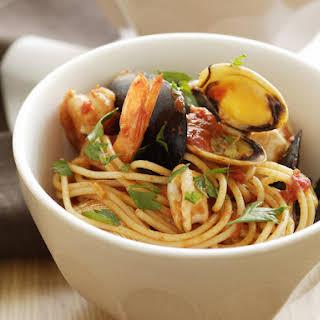 Seafood Spaghetti.