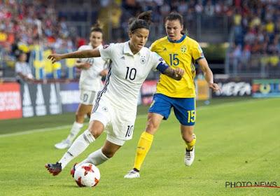 """Speelster van de match Duitsland tevreden: """"Het positieve onthouden"""""""