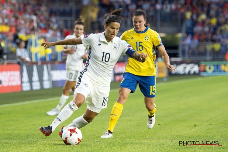 Coupe du monde féminine: quand une superstar se retrouve en tribune de presse
