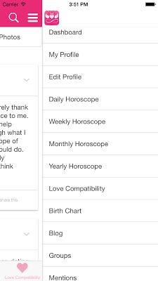 Horoscope & Love Compatibility - screenshot