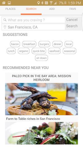 android Paleo Digest Screenshot 2