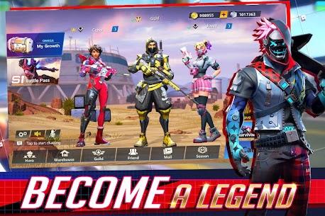 Omega Legends APK (MOD, Speed/Jump Hack) v1.0.10 1