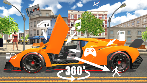 Car Simulator Veneno 1,2 screenshots 10