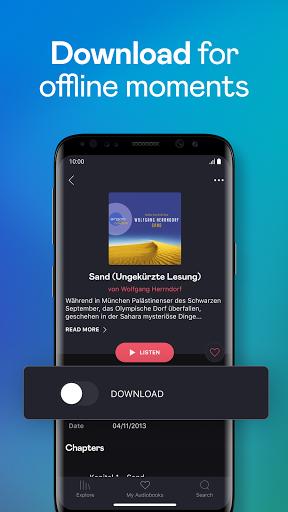 Audiobooks by Deezer screenshot 4
