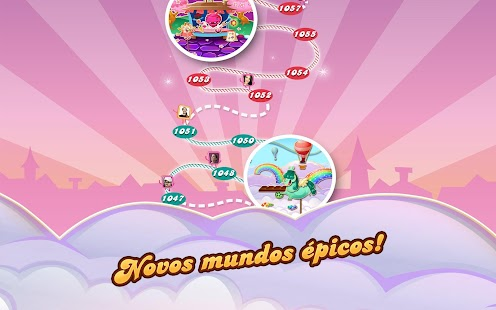 Candy Crush Saga: miniatura da captura de tela