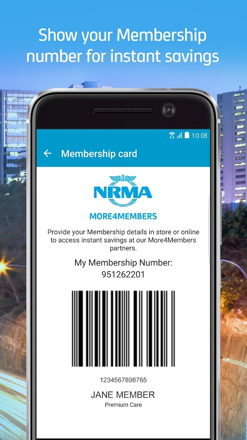 my nrma- screenshot