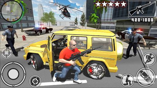 Real Gangster Crime Simulator  captures d'écran 1