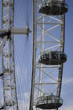 Photo: The lines for the London Eye were incredibly long
