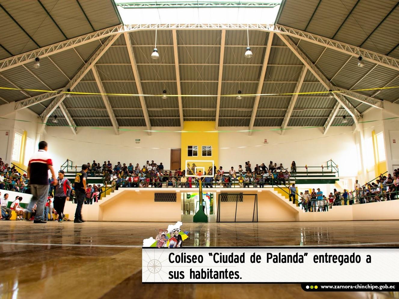 COLISEO CIUDAD DE PALANDA ENTREGADO A SUS HABITANTES