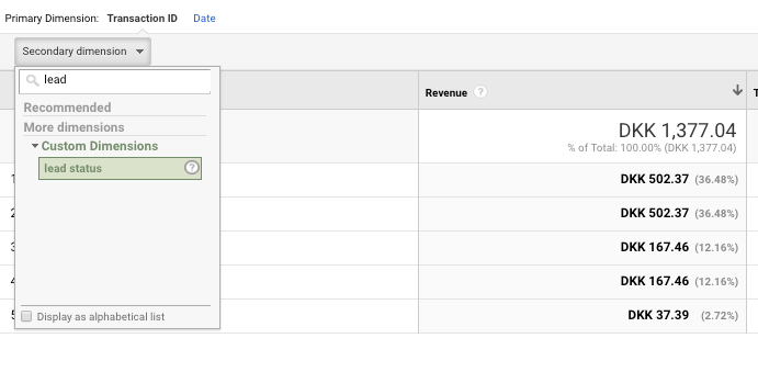 example of custom dimension in google analytics.