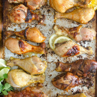 Sweet Chili and Ginger Chicken Legs.