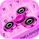 Pink Glitter Fidget Spinner Animated Keyboard Download on Windows
