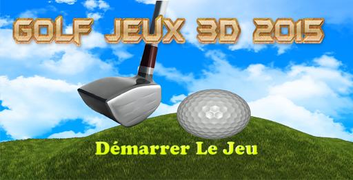 Golf Jeux 3D 2015