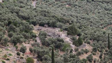 Photo: Sanctuary of Athena below