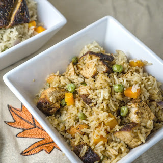 Blackened Chicken Rice Pilaf.